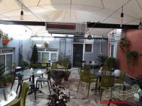 بخاری گازی دیواری گرماتاب رستوران