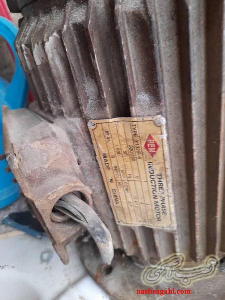 دینام سه فاز 3.7کیلو وات و 4 hpو 960دور