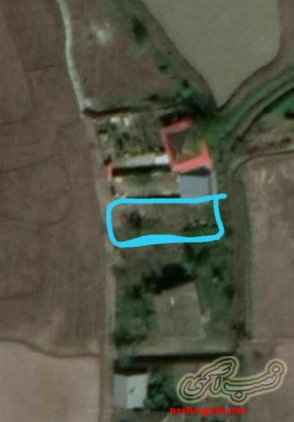 زمین200مترمسکونی درنزدیکی رشت بافت روستای