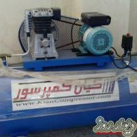 پمپ باد 250 لیتری 2سیلندر