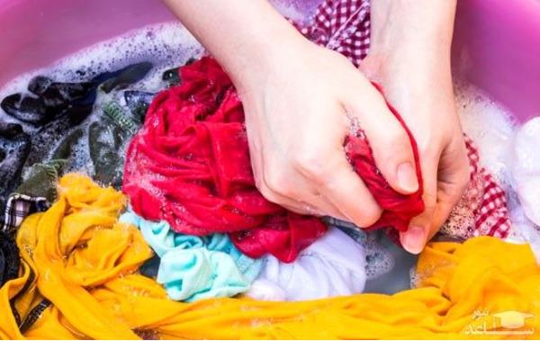 لباسها را در بالاترین درجه دمای آب ضدعفونی کنید